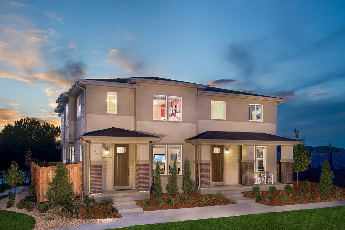 New Homes in Littleton, CO - Jamison Villas Spruce & Willow Paired Model Homes
