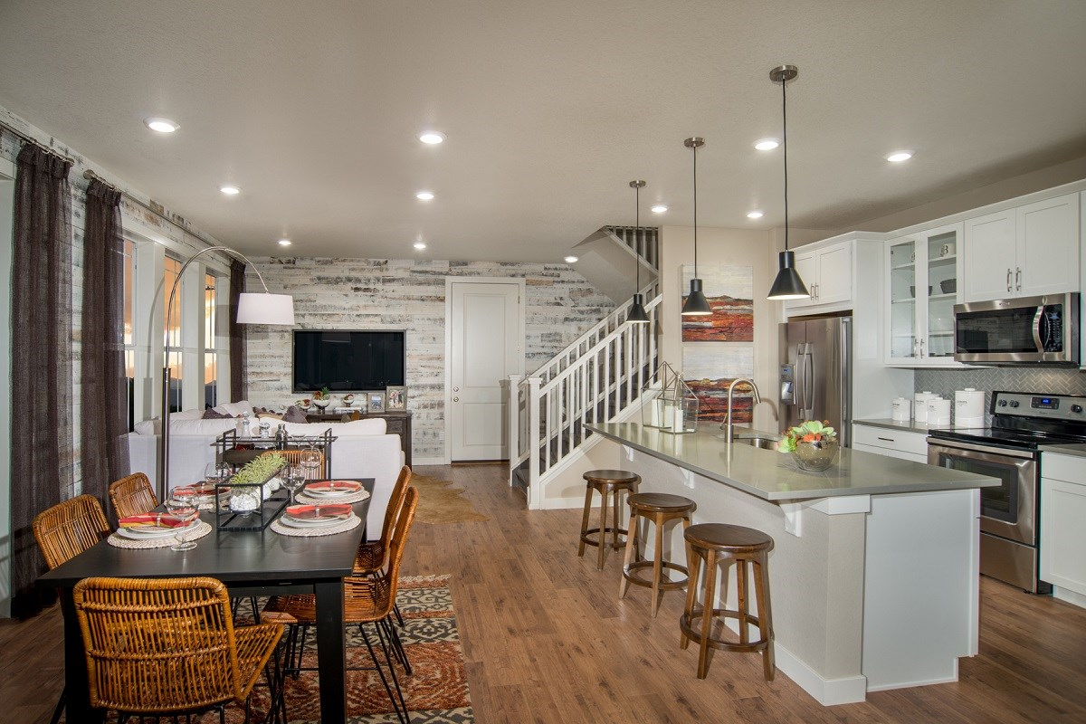 New Homes in Littleton, CO - Jamison Villas Spruce Great Room