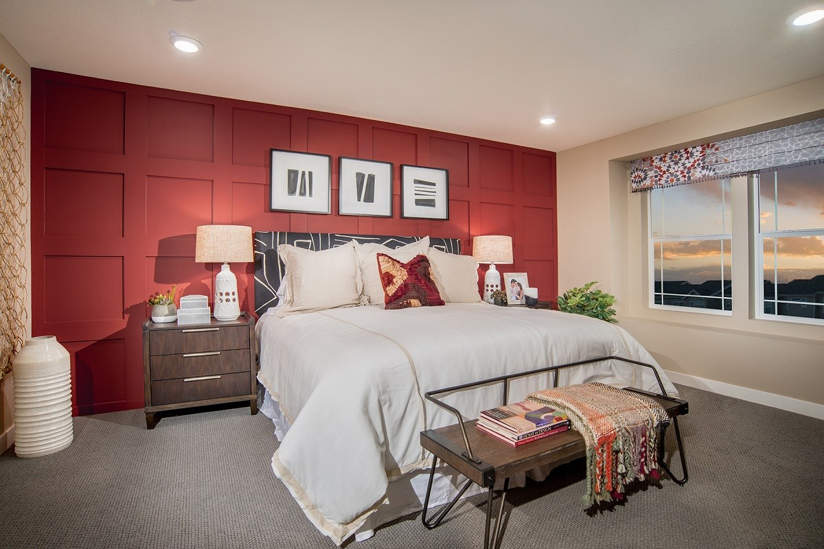 New Homes in Littleton, CO - Jamison Villas Spruce Master Bedroom