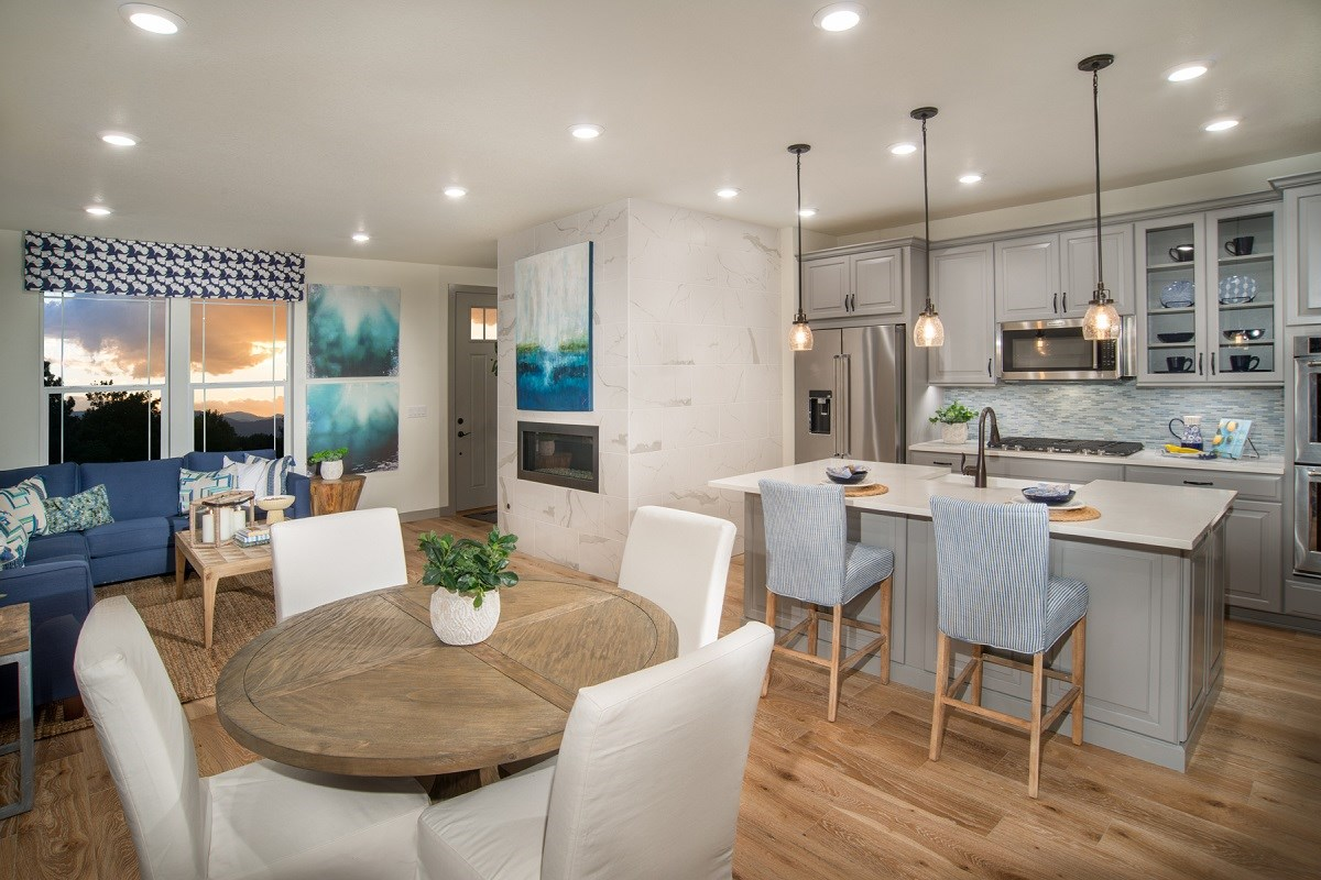 New Homes in Littleton, CO - Jamison Villas Willow Great Room