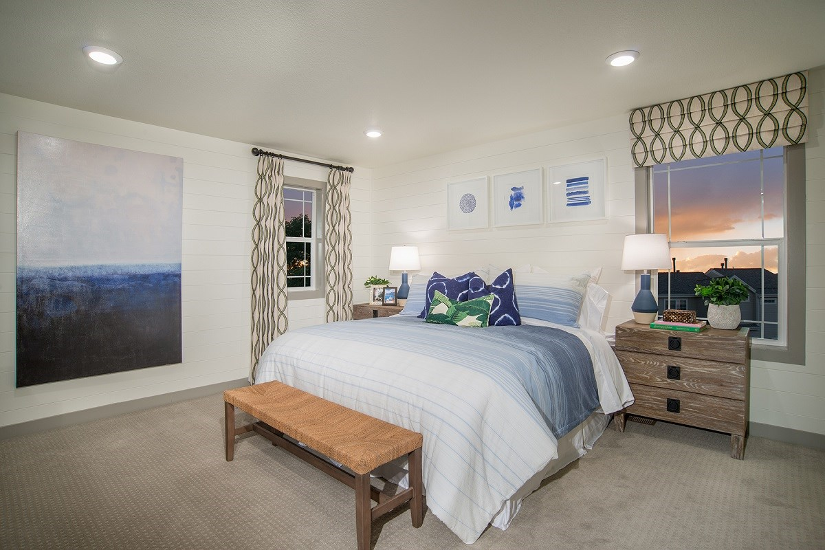 New Homes in Littleton, CO - Jamison Villas Willow Master Bedroom