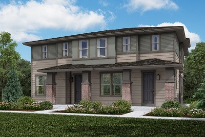 New Homes in Littleton, CO - Building 1 - Cypress + Spruce