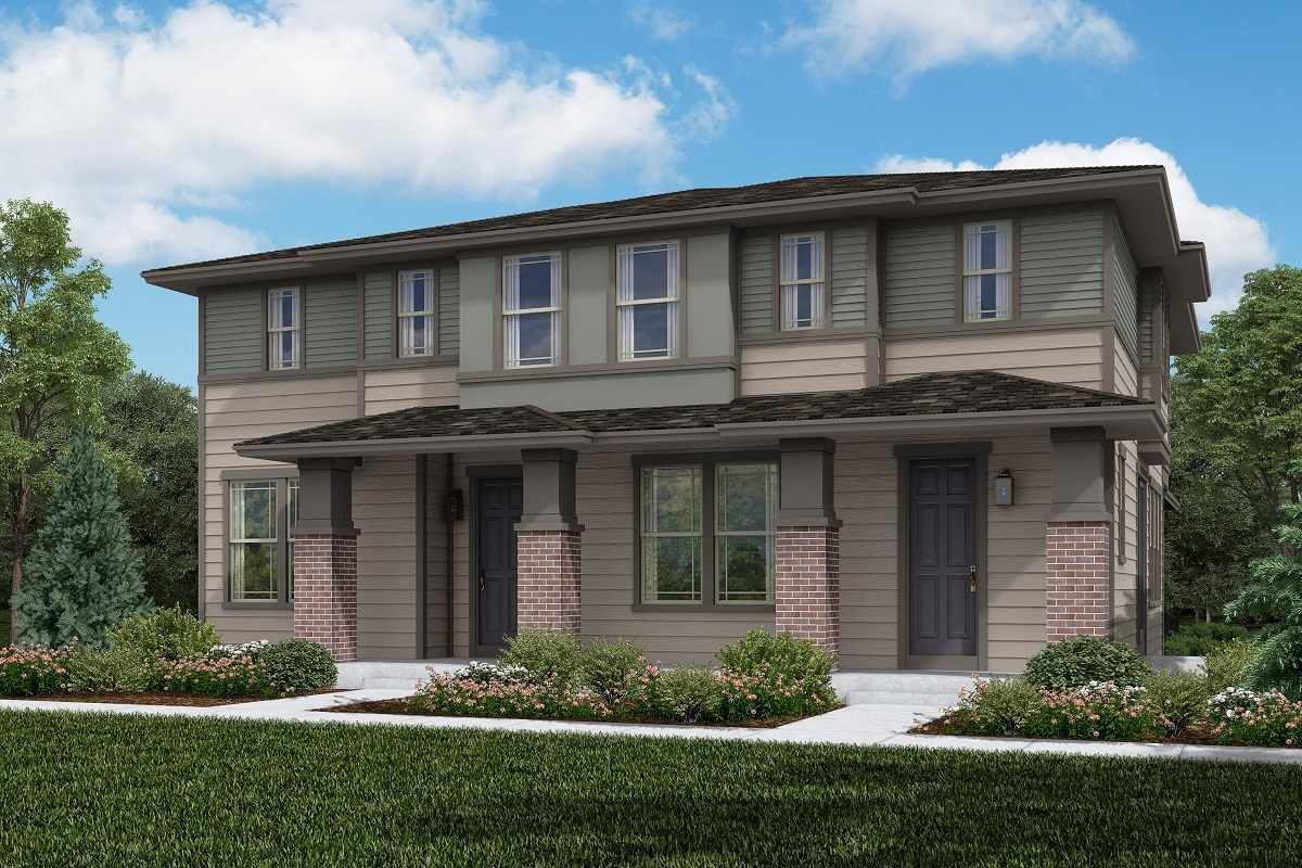 New Homes in Littleton, CO - Jamison Villas Building 1 - Cypress & Spruce