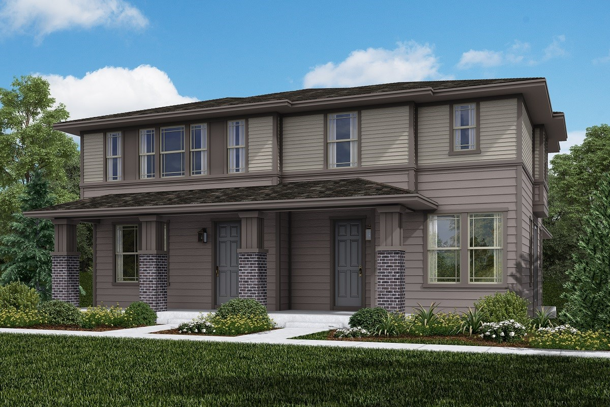New Homes in Littleton, CO - Jamison Villas Building 2 - Cypress & Willow