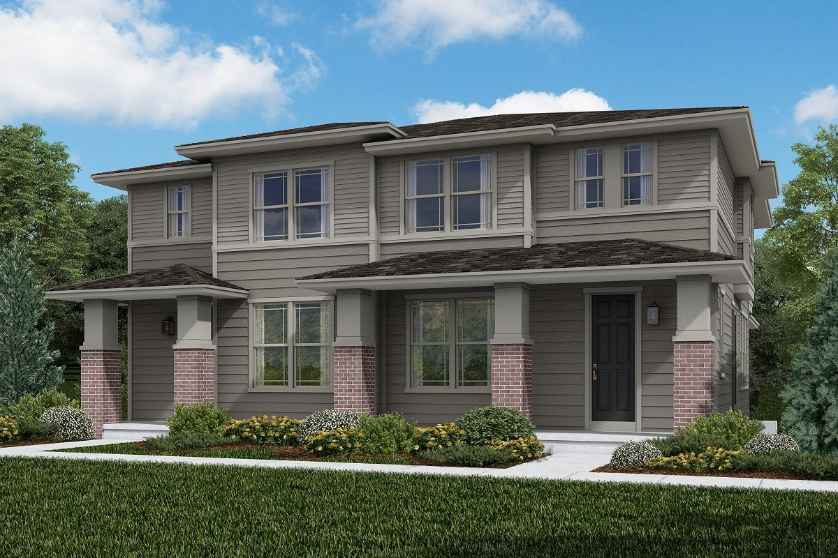 New Homes in Littleton, CO - Jamison Villas Building 3 - Spruce & Spruce