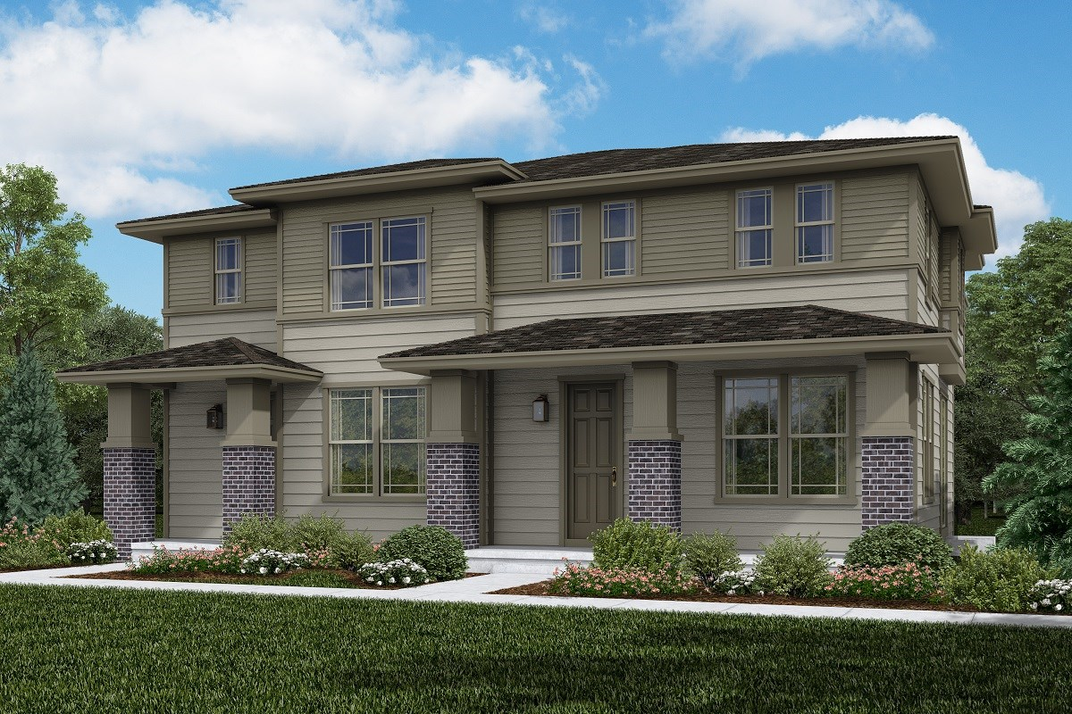 New Homes in Littleton, CO - Jamison Villas Building 4 - Spruce & Willow