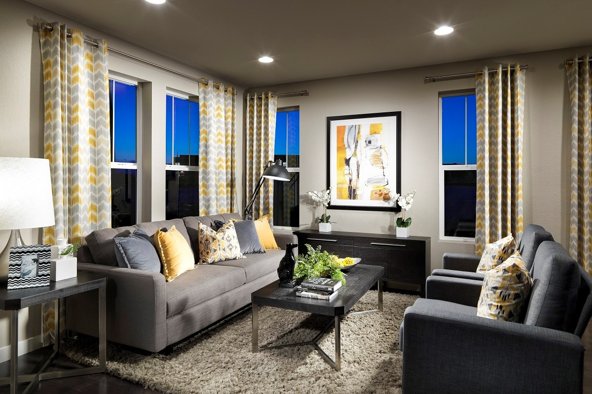 New Homes in Broomfield, CO - The Villas at North Park Cypress Family Room