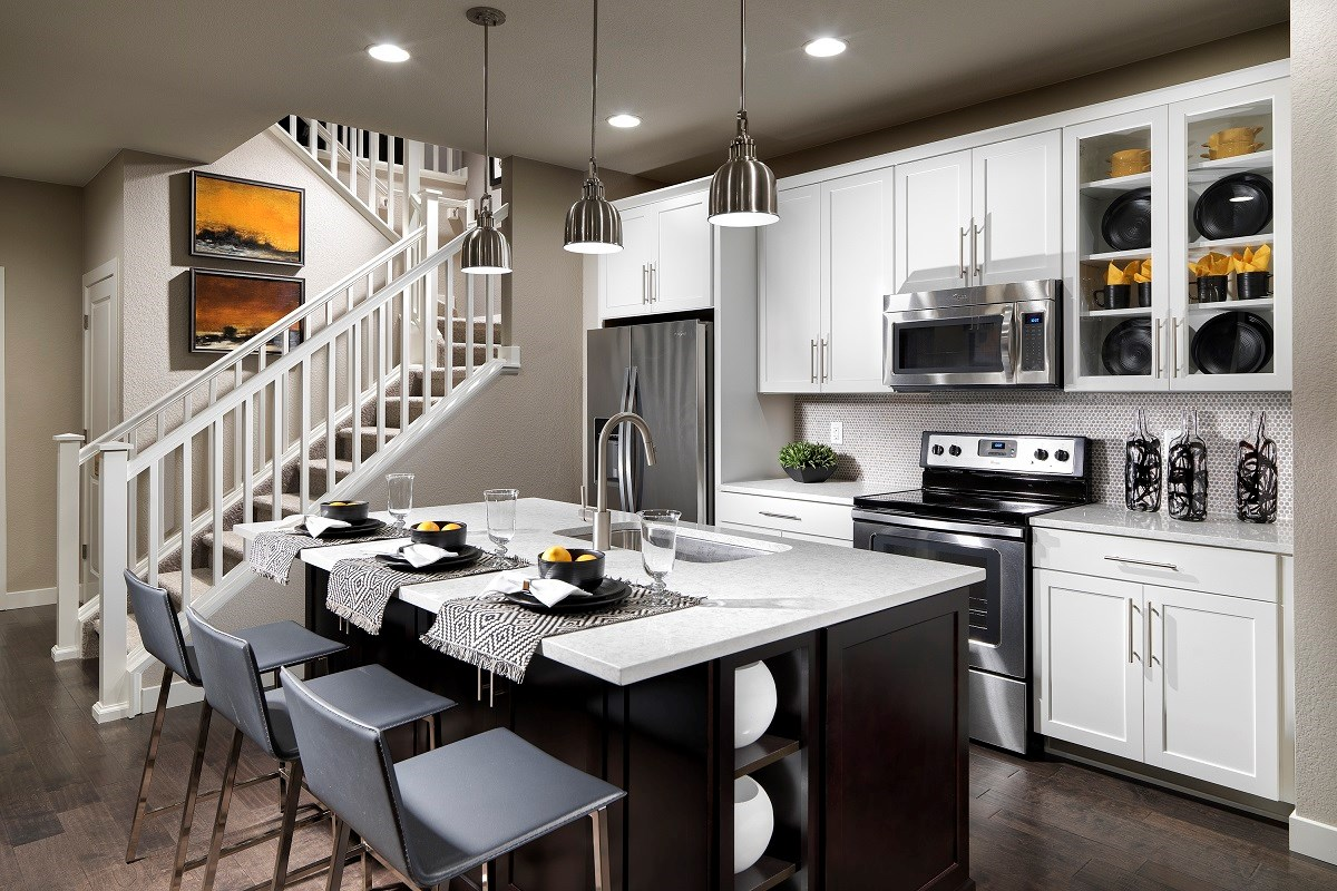 New Homes in Broomfield, CO - The Villas at North Park Cypress Kitchen