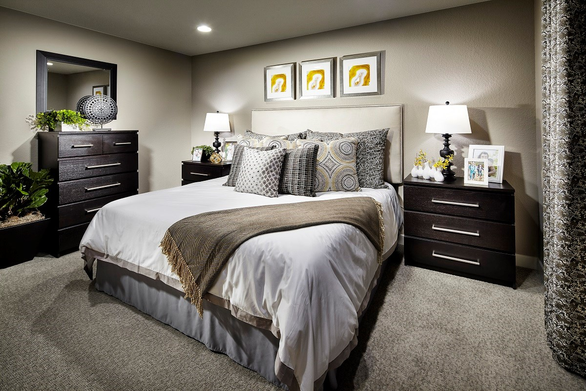 New Homes in Broomfield, CO - The Villas at North Park Cypress Master Bedroom