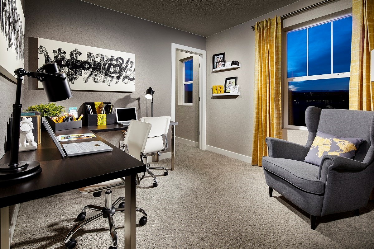 New Homes in Broomfield, CO - The Villas at North Park Cypress Study