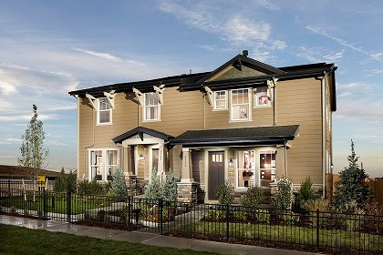 New Homes in Broomfield, CO - Cypress and Willow Paired Model Homes