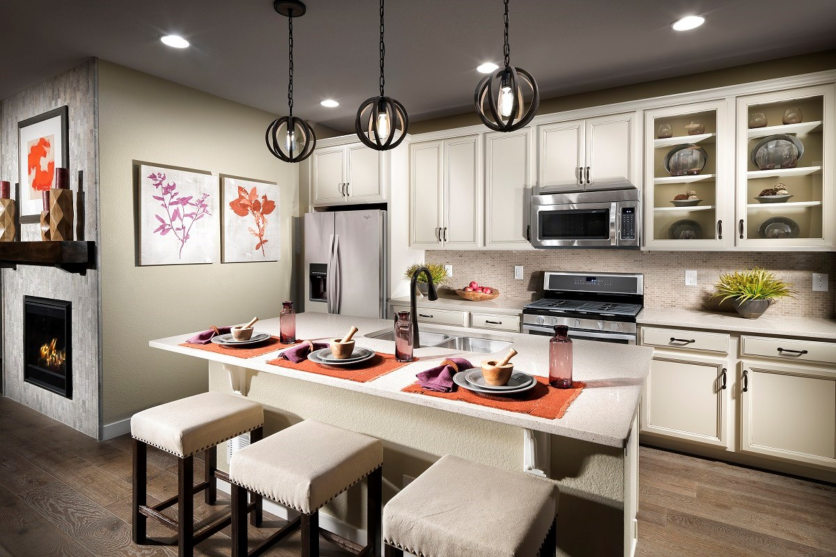 New Homes in Broomfield, CO - The Villas at North Park Willow Kitchen