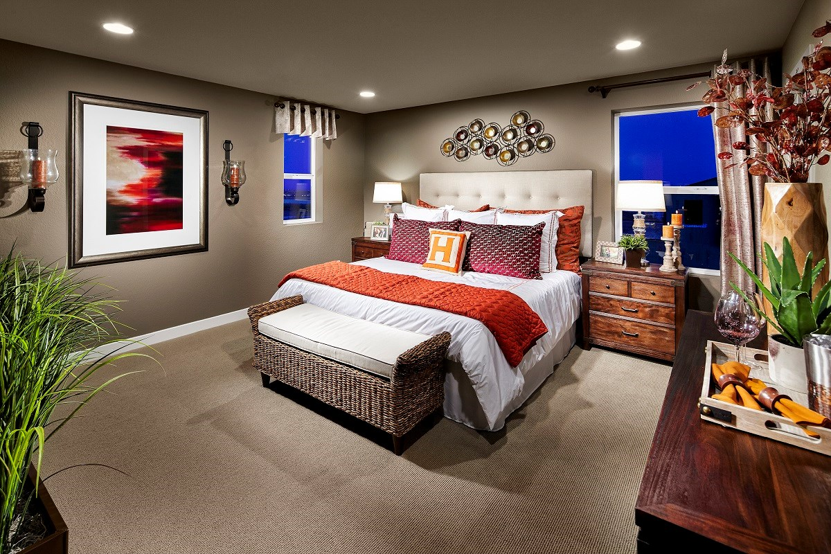 New Homes in Broomfield, CO - The Villas at North Park Willow Master Bedroom
