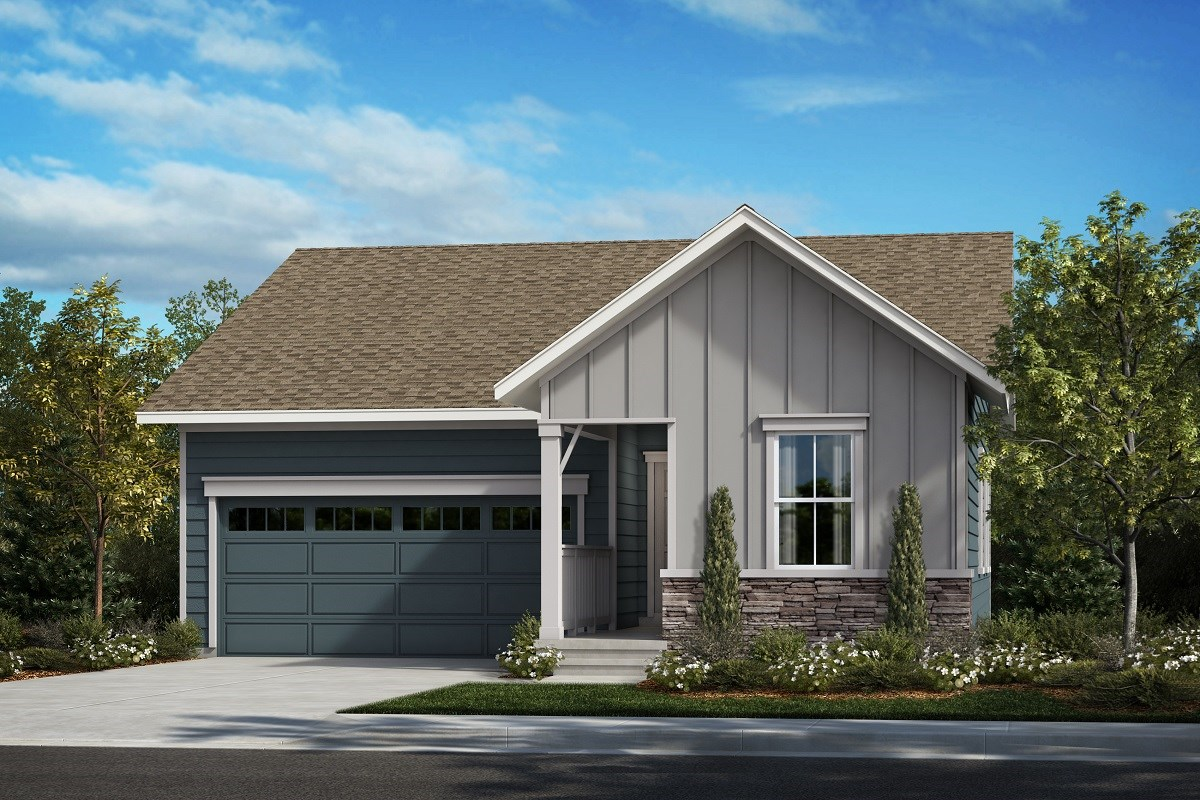 New Homes in Aurora, CO - Painted Prairie The Ambition - Elevation A