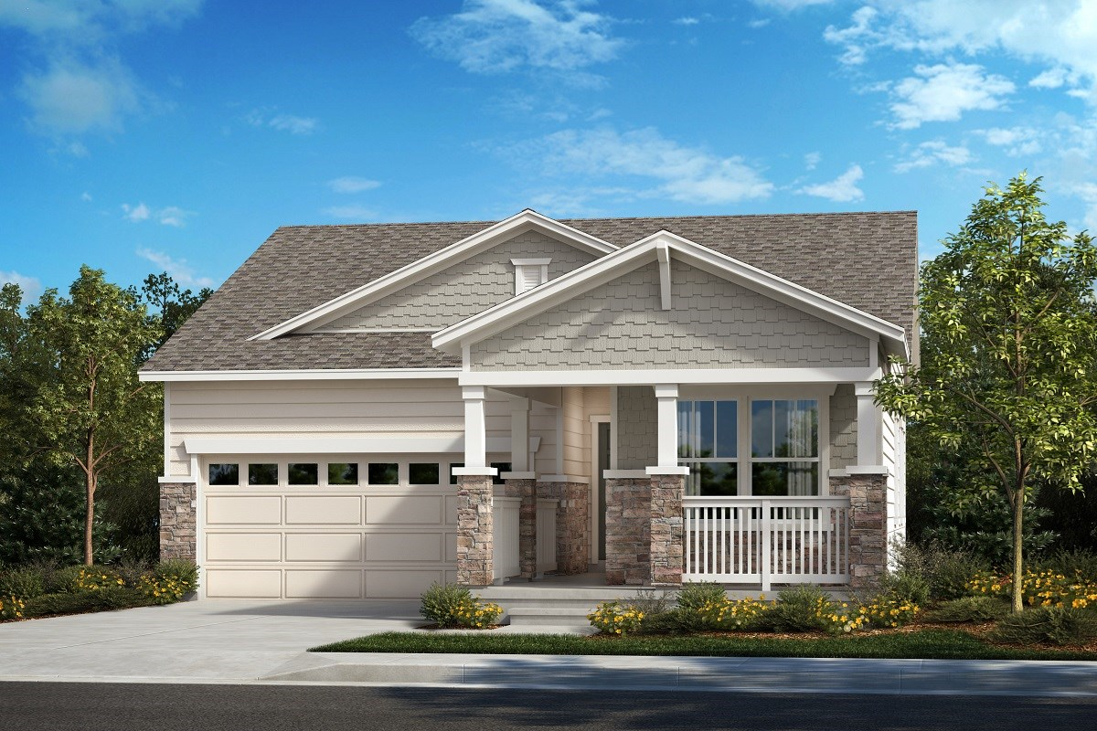 New Homes in Aurora, CO - Painted Prairie The Ambition - Elevation B