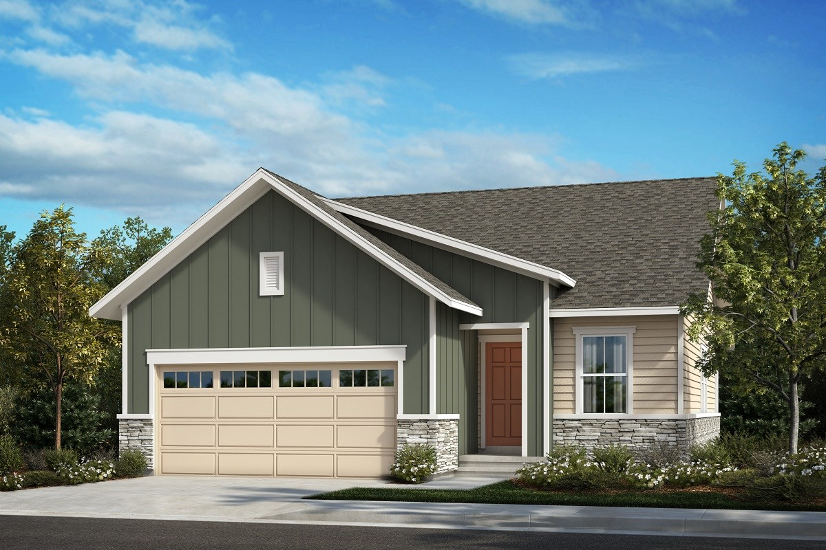 New Homes in Aurora, CO - Painted Prairie The Aspire - Elevation A