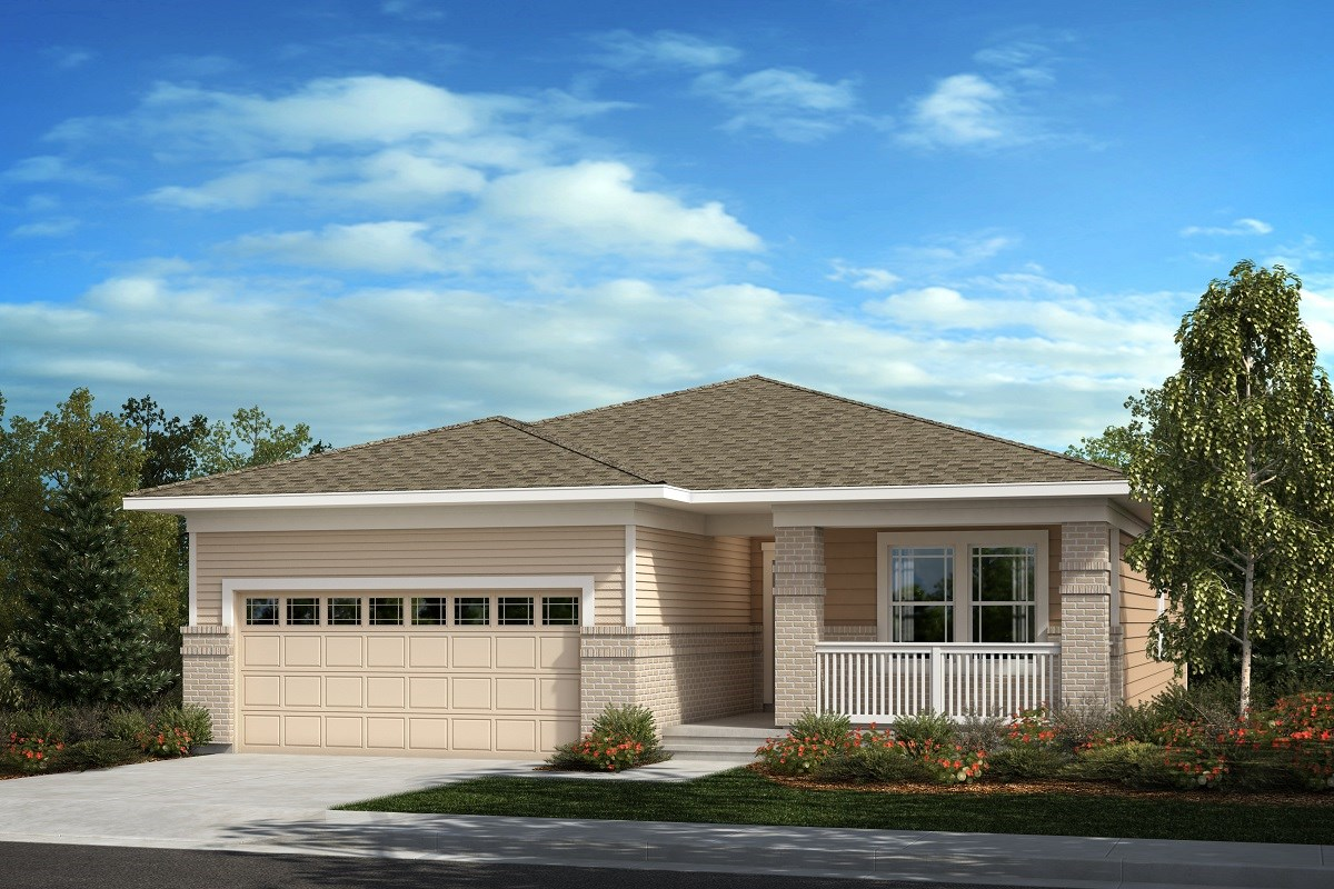 New Homes in Aurora, CO - Painted Prairie The Chaucer - Elevation C