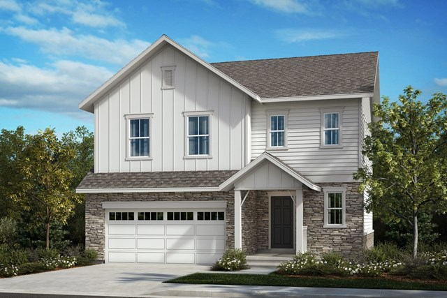 New Homes in Aurora, CO - The Glimpase - Elevation A