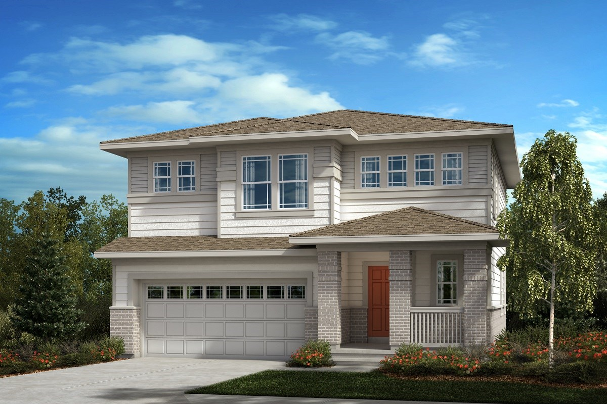 New Homes in Aurora, CO - Painted Prairie The Glimpse - Elevation C