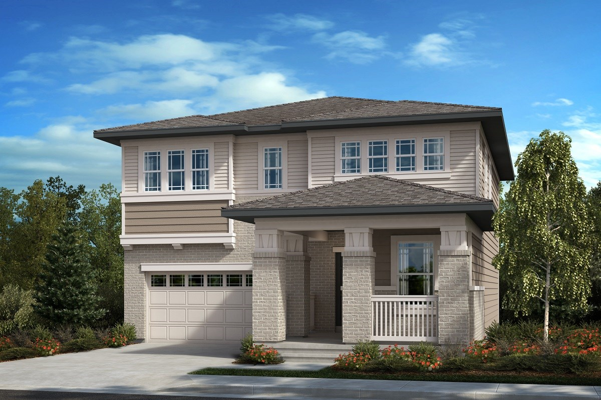New Homes in Aurora, CO - Painted Prairie The Memory - Elevation C