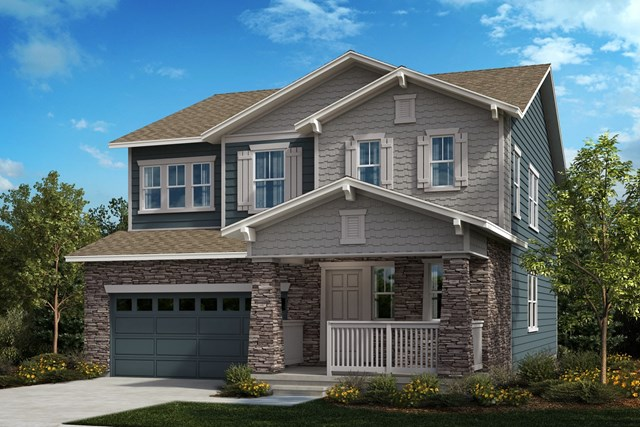 New Homes in Aurora, CO - The Sparkle - Elevation B