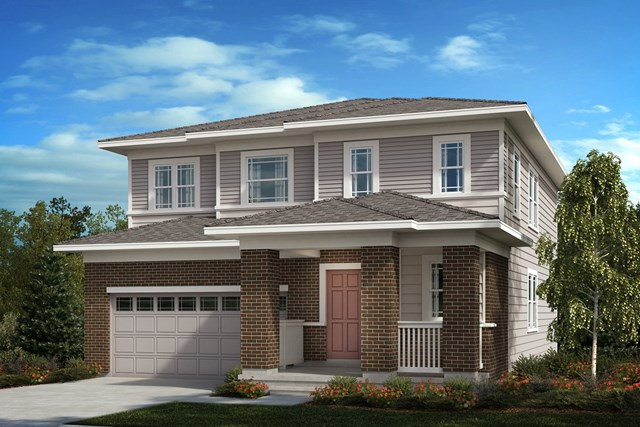 New Homes in Aurora, CO - The Sparkle - Elevation C