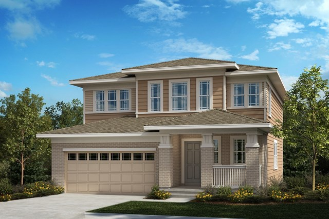 New Homes in Aurora, CO - The Serendipity - Elevation C