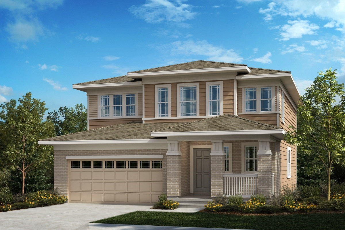 New Homes in Aurora, CO - Painted Prairie The Serendipity - Elevation C