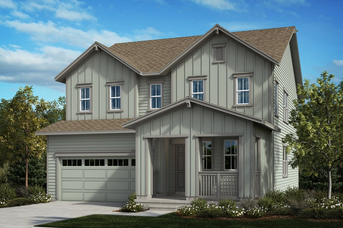 New Homes in Aurora, CO - Painted Prairie The Sparkle - Elevation A