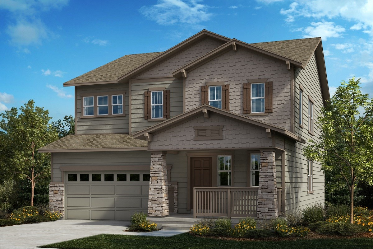 New Homes in Aurora, CO - Painted Prairie The Sparkle - Elevation B