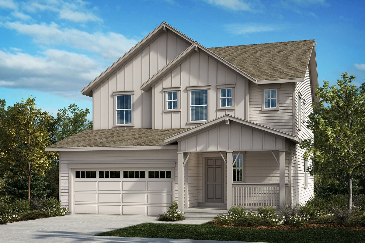 New Homes in Aurora, CO - Painted Prairie The Serendipity - Elevation A