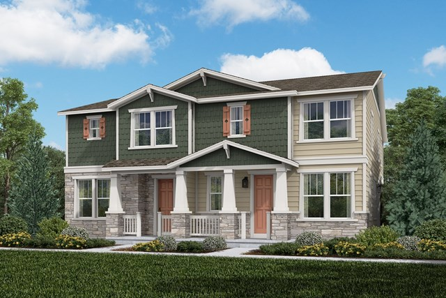 New Homes in Aurora, CO - Cypress + Redwood: Craftsman Style