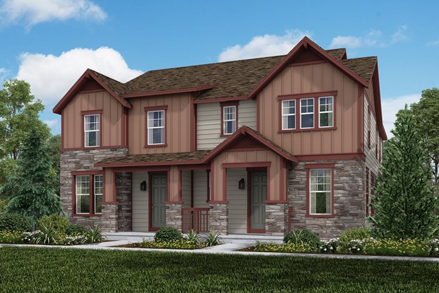 New Homes in Aurora, CO - Willow + Redwood: Farmhouse Style