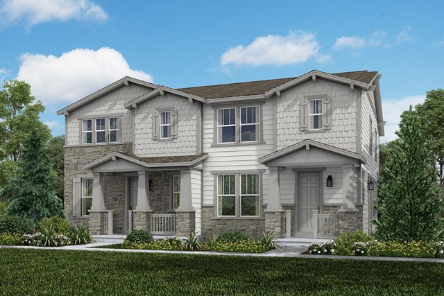 New Homes in Aurora, CO - Redwood + Spruce: Craftsman Style