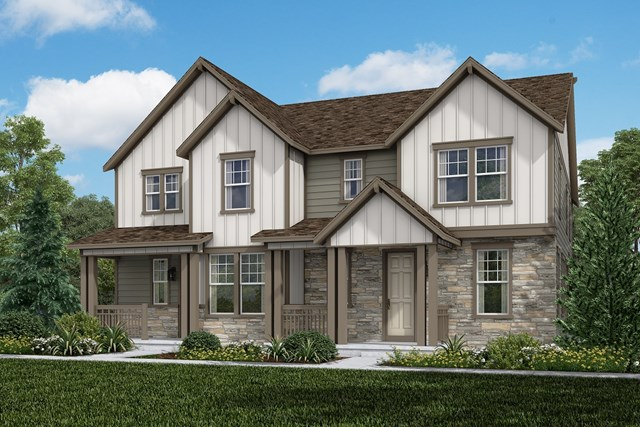 New Homes in Aurora, CO - Walnut + Redwood: Farmhouse Style