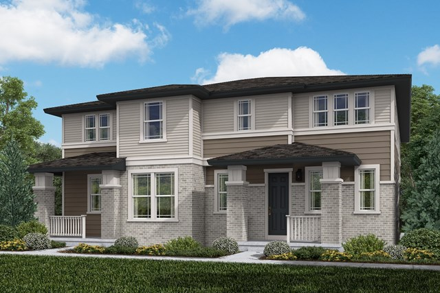 New Homes in Aurora, CO - Walnut + Redwood: Prairie Style