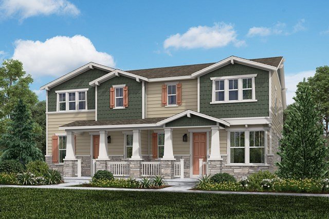 New Homes in Aurora, CO - Redwood + Redwood: Craftsman Style