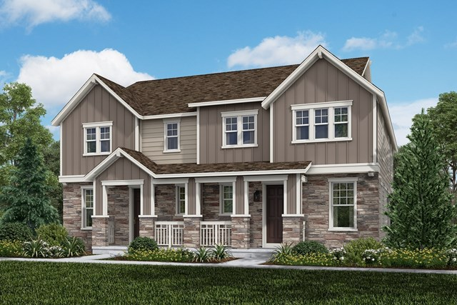 New Homes in Aurora, CO - Redwood + Redwood: Farmhouse Style