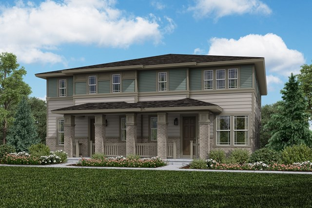 New Homes in Aurora, CO - Redwood + Redwood: Prairie Style