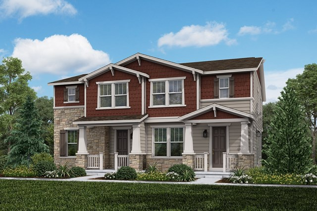 New Homes in Aurora, CO - Cypress + Spruce: Craftsman Style