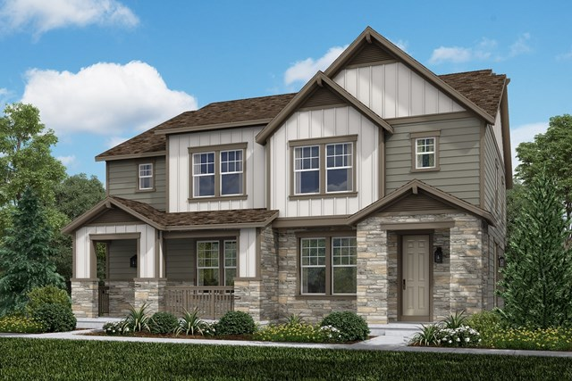 New Homes in Aurora, CO - Spruce + Spruce: Farmhouse Style