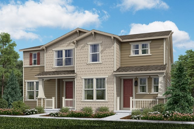 New Homes in Aurora, CO - Cypress + Walnut: Craftsman Style