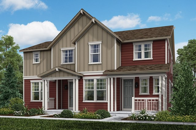 New Homes in Aurora, CO - Cypress + Walnut: Farmhouse Style