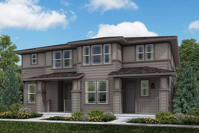 New Homes in Aurora, CO - Cypress + Walnut: Prairie Style