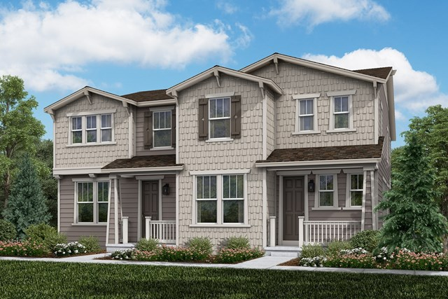 New Homes in Aurora, CO - Willow + Walnut: Craftsman Style
