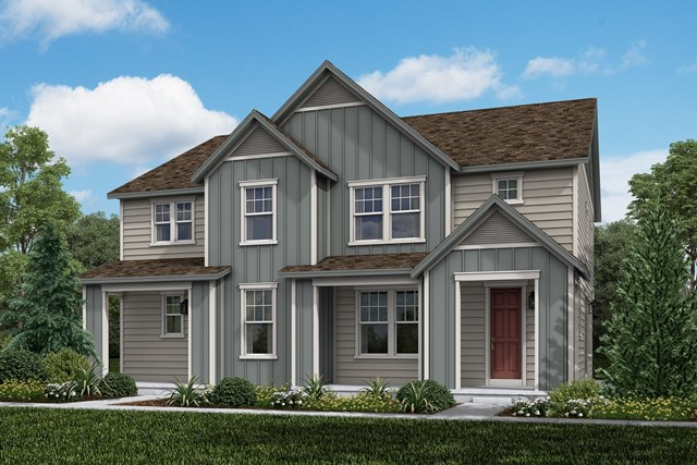 New Homes in Aurora, CO - Walnut + Spruce: Farmhouse Style