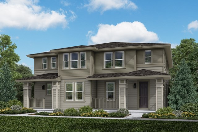 New Homes in Aurora, CO - Walnut + Spruce: Prairie Style
