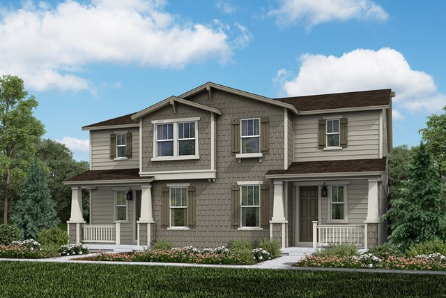 New Homes in Aurora, CO - Walnut + Walnut: Craftsman Style