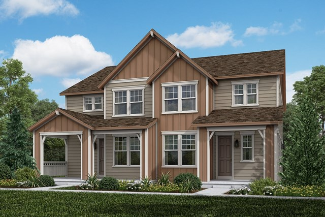New Homes in Aurora, CO - Walnut + Walnut: Farmhouse Style