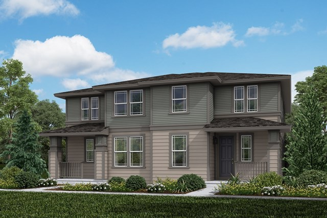 New Homes in Aurora, CO - Walnut + Walnut: Prairie Style